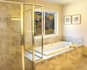 Trillium Master Bath Shower and Soaking Tub