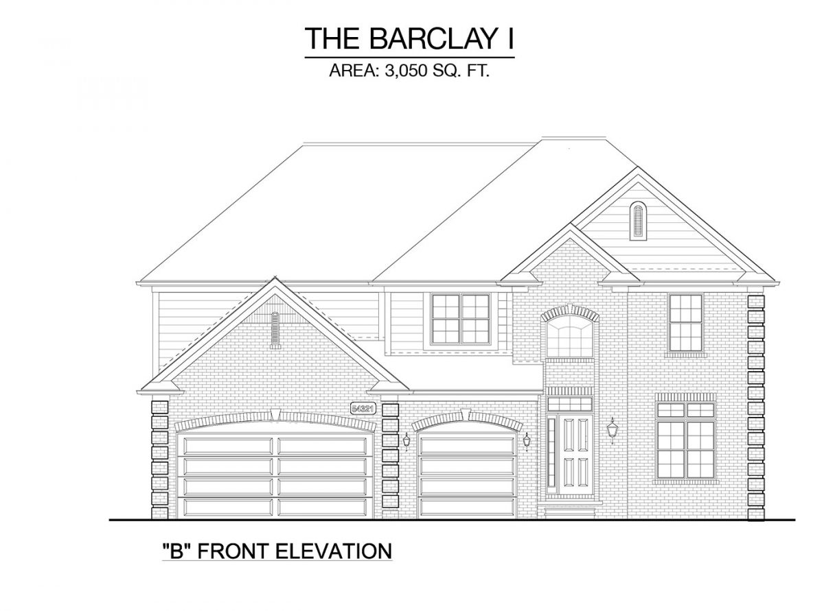 Barclay I - Elevation C