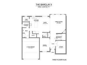 Barclay II - First Floor