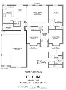 Trillium - 2-Bath Option - First Floor