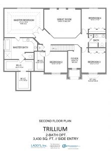 Trillium - 2-Bath Option - Second Floor