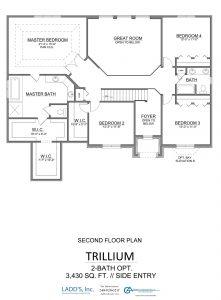 Trillium - 2-Bath Option - Second Floor
