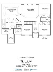 Trillium - 3-Bath Option - Second Floor