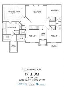 Trillium - 3-Bath Option - Second Floor