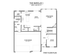Barclay I - First Floor
