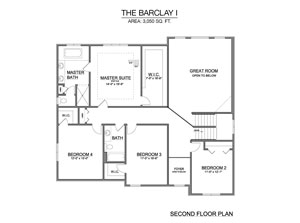 Barclay I - Second Floor