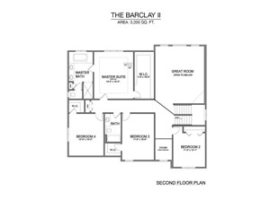 Barclay II - Second Floor